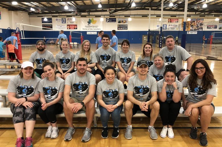 KCCC Volleyball Volunteers